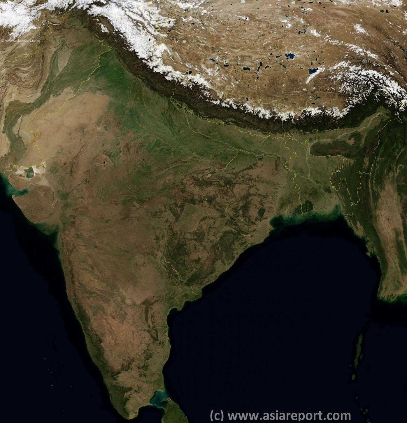 map of india satellite view Satelight Map Of India Map Of The World map of india satellite view
